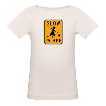 Slow 25 MPH Organic Baby T-Shirt