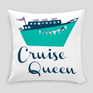 Cruise Queen Everyday Pillow