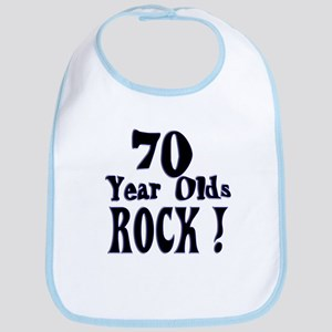 70 Year Olds Rock ! Bib