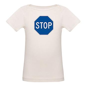 Stop, Hawaii (US) Organic Baby T-Shirt