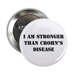 Stronger - Crohn's Disease Button