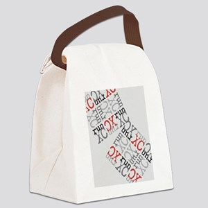 Run XC Cross Country Canvas Lunch Bag