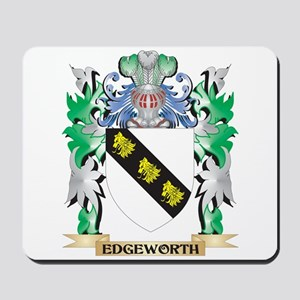 Edgeworth Coat of Arms (Family Crest) Mousepad