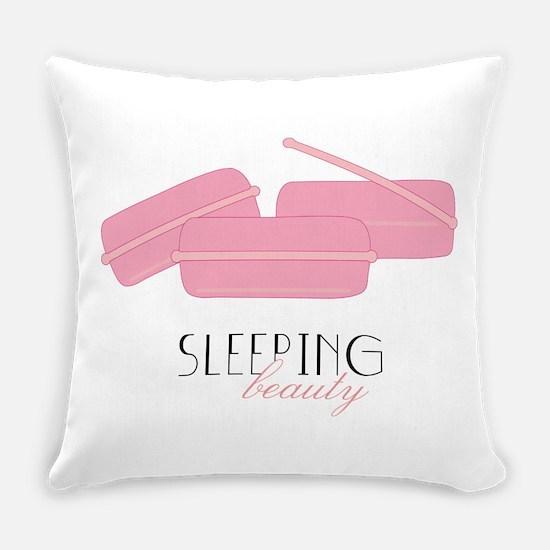 Sleeping Beauty Everyday Pillow
