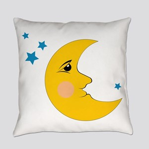 Moon & Stars Everyday Pillow