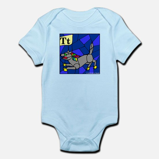 T is for Theow Infant Bodysuit