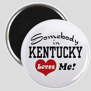 Somebody in Kentucky Loves Me Magnet