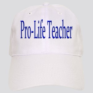 Pro-Life Teacher Cap