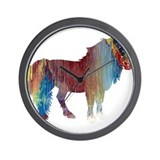 Horse themed Wall Clocks