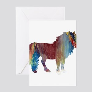 Pony Greeting Cards