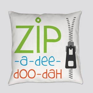 Zipper Zip Everyday Pillow