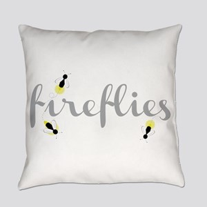 Fireflies Everyday Pillow