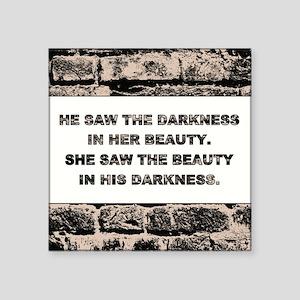 DARKNESS & BEAUTY Sticker