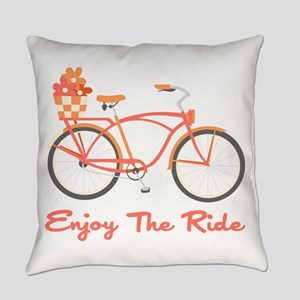 Enjoy The Ride Everyday Pillow