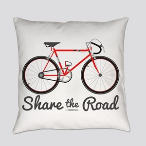 Share The Road Everyday Pillow