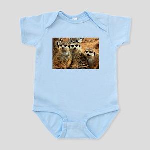 Meerkat Family Portrait Body Suit