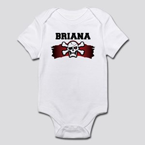 briana is a pirate Infant Bodysuit