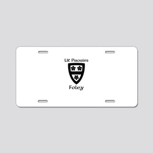 Foley Coat of Arms Aluminum License Plate