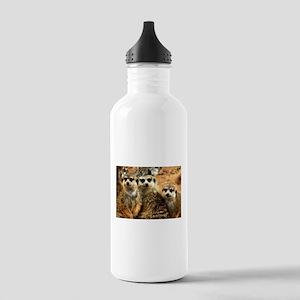 Meerkat Family Portrai Stainless Water Bottle 1.0L