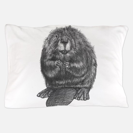 Funny Beaver to be Pillow Case