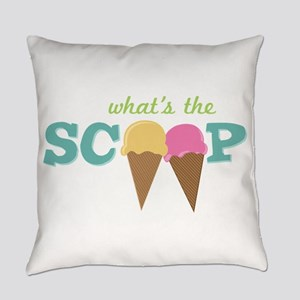 What's The Scoop Everyday Pillow