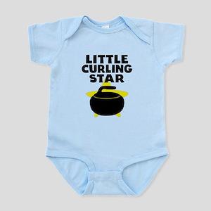 Little Curling Star Body Suit