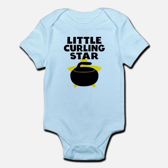 Little Curling Star Body Suit