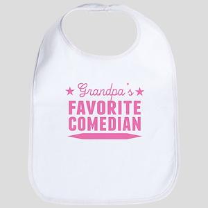 Grandpas Favorite Comedian Bib