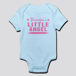 Grandpas Little Angel Body Suit