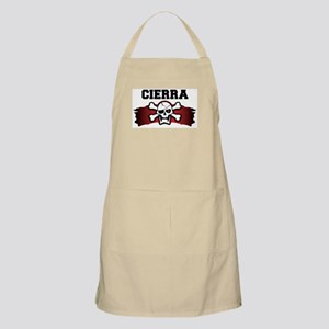 cierra is a pirate BBQ Apron