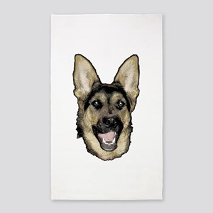 German shepherd Area Rug