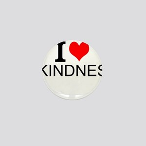 I Love Kindness Mini Button