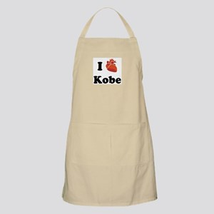 I (Heart) Kobe BBQ Apron