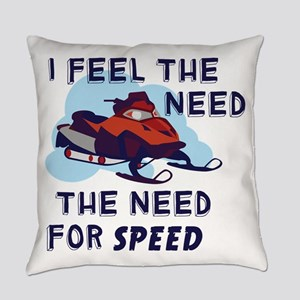 I Feel The Need The Need For Speed Everyday Pillow