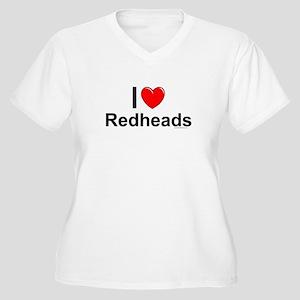 Redheads Women's Plus Size V-Neck T-Shirt