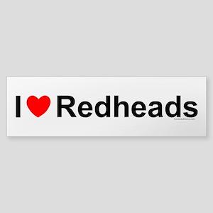 Redheads Sticker (Bumper)