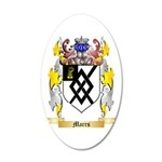 Marrs 20x12 Oval Wall Decal