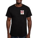Marron Men's Fitted T-Shirt (dark)