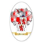 Marron Sticker (Oval)