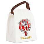 Marron Canvas Lunch Bag