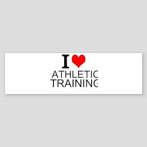 I Love Athletic Training Bumper Sticker