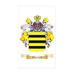 Marriott Sticker (Rectangle 10 pk)