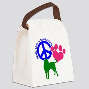 P,L,BULLMASTIFF Canvas Lunch Bag
