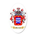 Marriner Oval Car Magnet