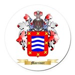 Marriner Round Car Magnet