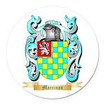 Marrinan Round Car Magnet