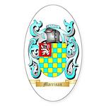 Marrinan Sticker (Oval 50 pk)