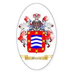 Marrin Sticker (Oval 50 pk)
