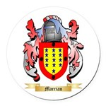 Marrian Round Car Magnet