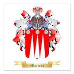 Marrero Square Car Magnet 3